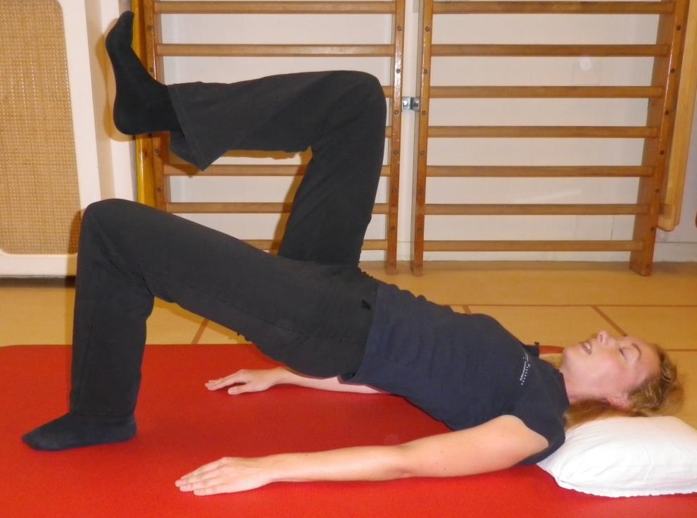 Core stability oefening 1b: Bruggetje gevorderd - 1
