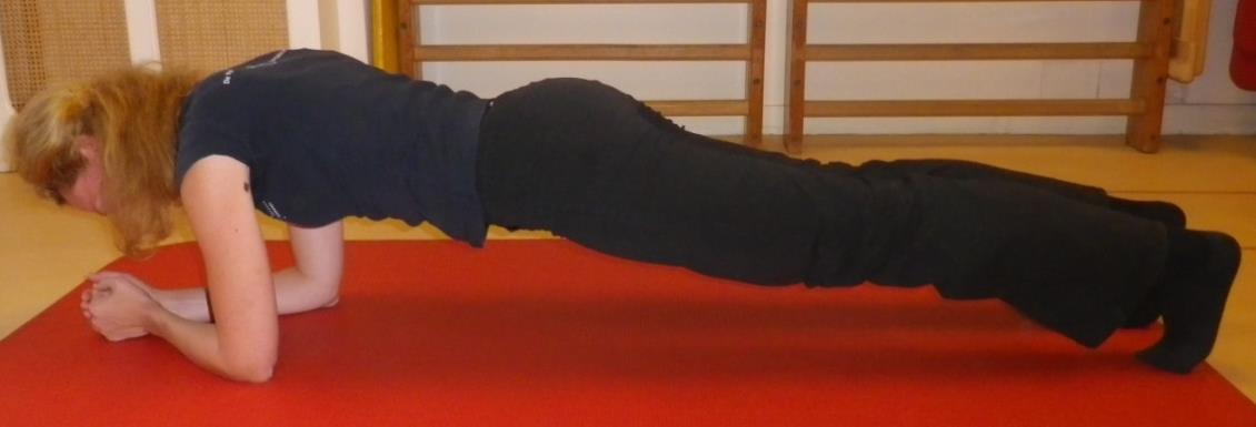 Core stability oefening 3: Plank - 1