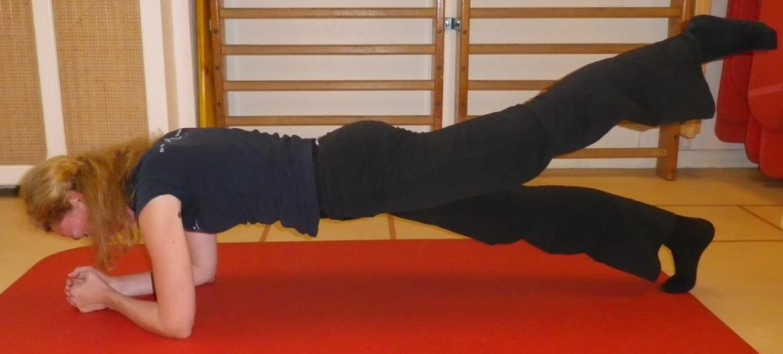 Core stability oefening 3: Plank - 3