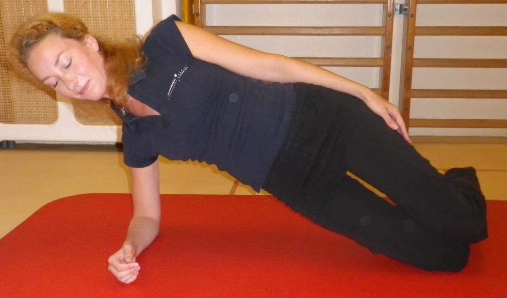 Core stability oefening 4: Zijwaartse plank - 2