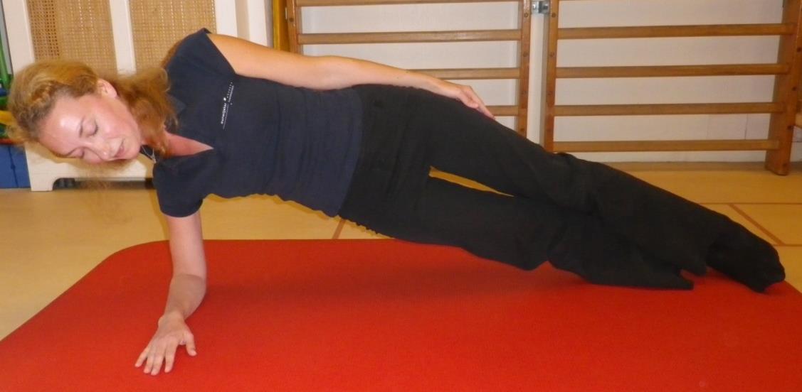 Core stability oefening 4: Zijwaartse plank - 1