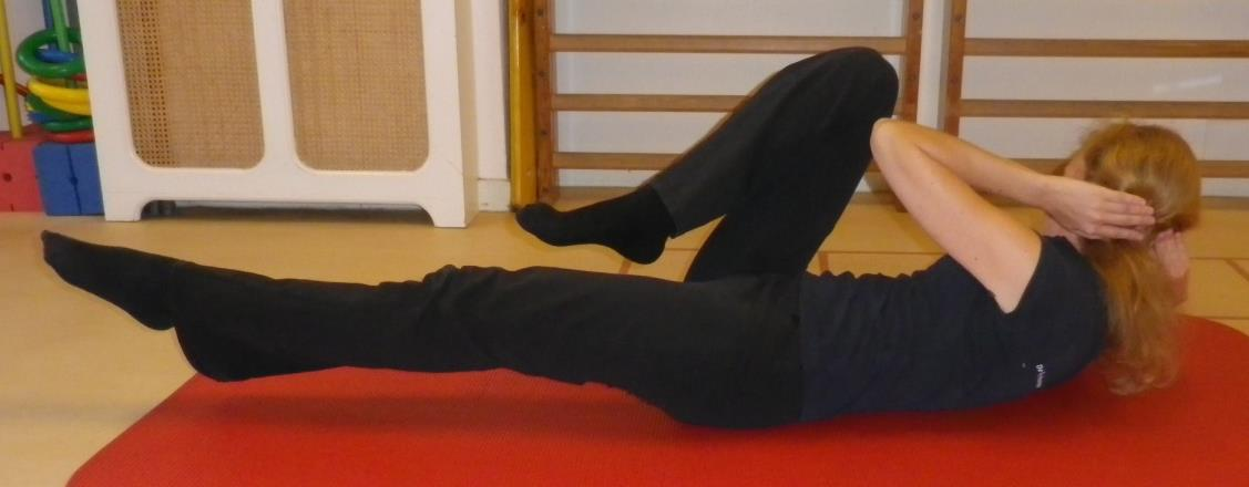 Core stability oefening 6b: Schuine buikspieren gevorderd - 1