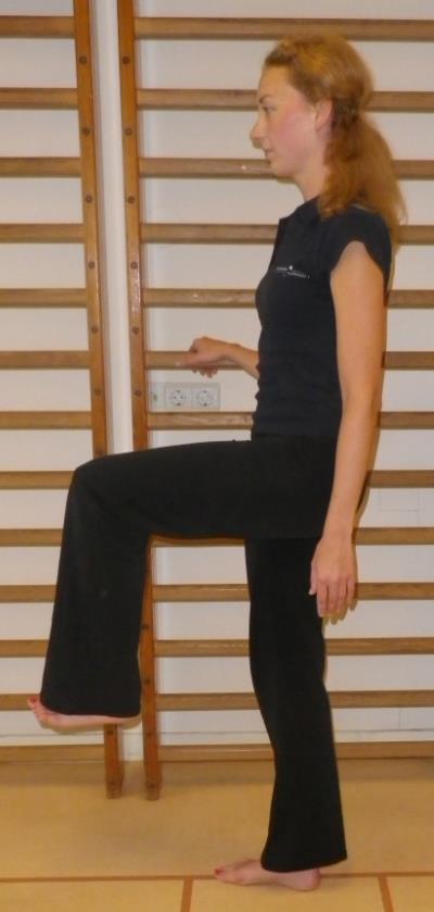 Heup en bekken spierversterkende oefening 1a: Heupbuigers
