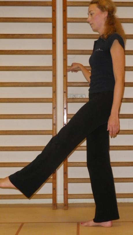 Heup en bekken spierversterkende oefening 1b: Heupbuigers