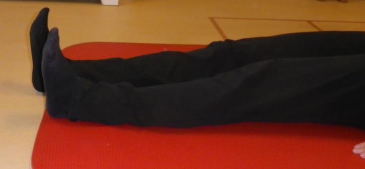 Lage rug en bekken mobiliteit oefening 5: Been verlengen - 2