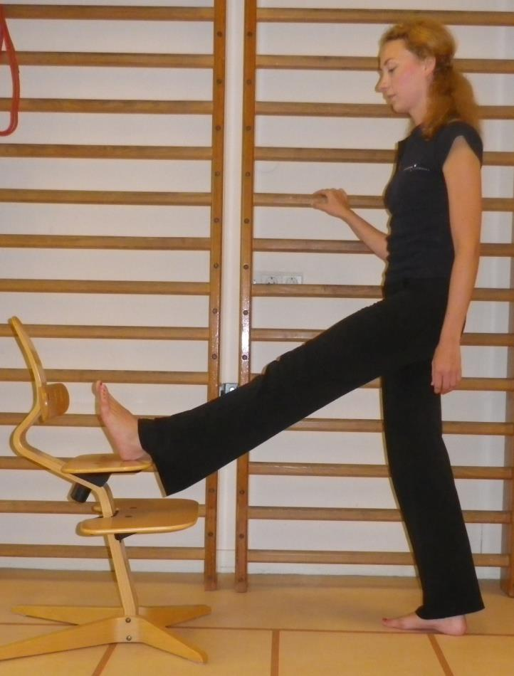 Benen rekoefening 4a: Hamstrings - 2